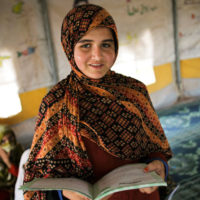Trop d'enfants réfugiés ne sont pas scolarisés