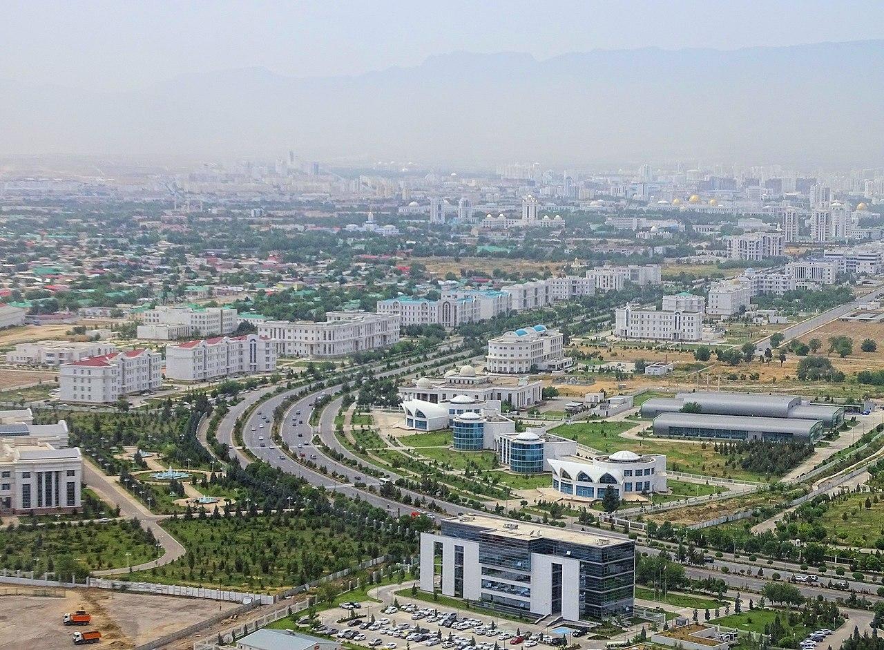 Achgabat, capitale du Turkménistan