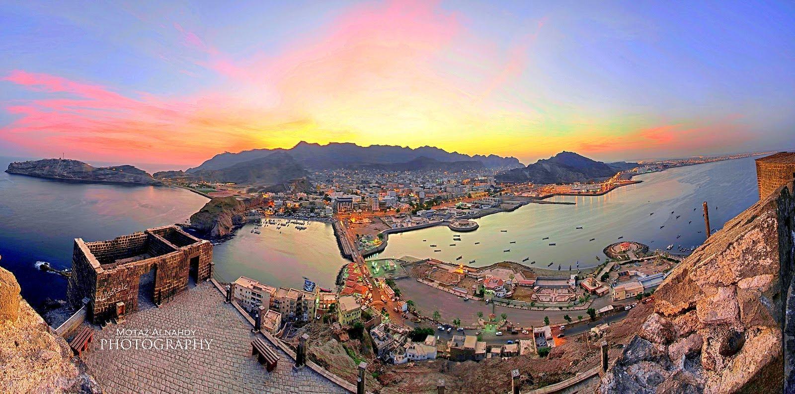 Aden, ancienne capitale du Yémen