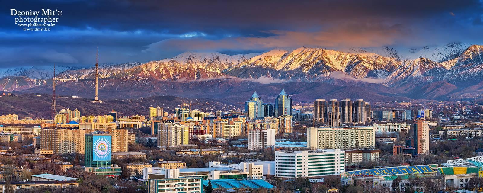 Almaty, ancienne capitale du Kazakhstan