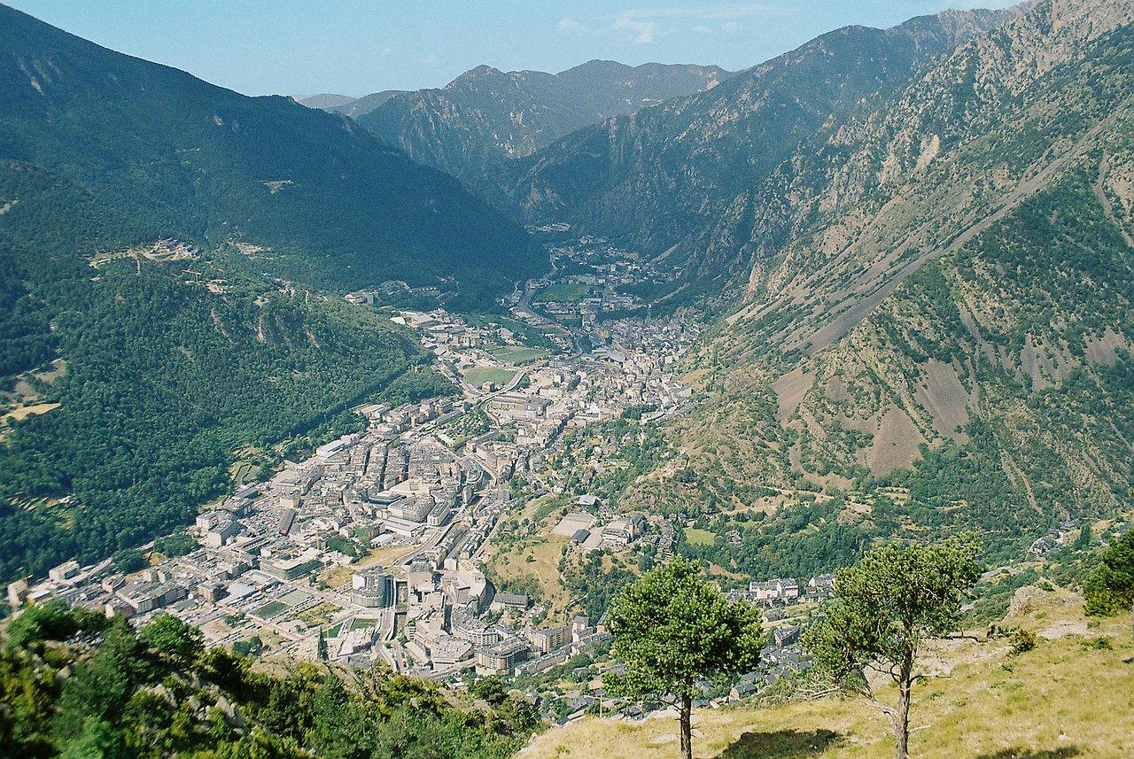 Andorre-la-Vieille, capitale de l'Andorre