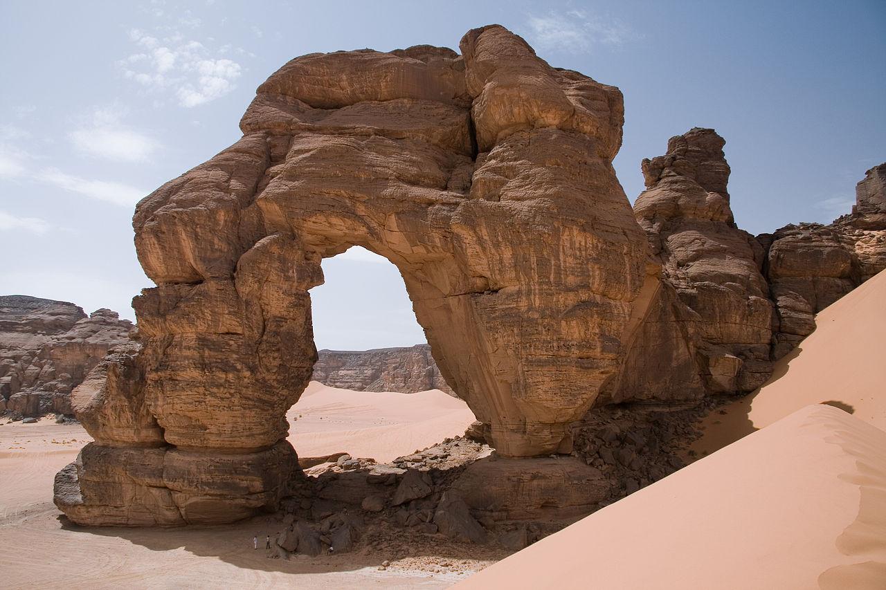 Arche Forzhaga, Tadrart Acacus, Sahara, Libye