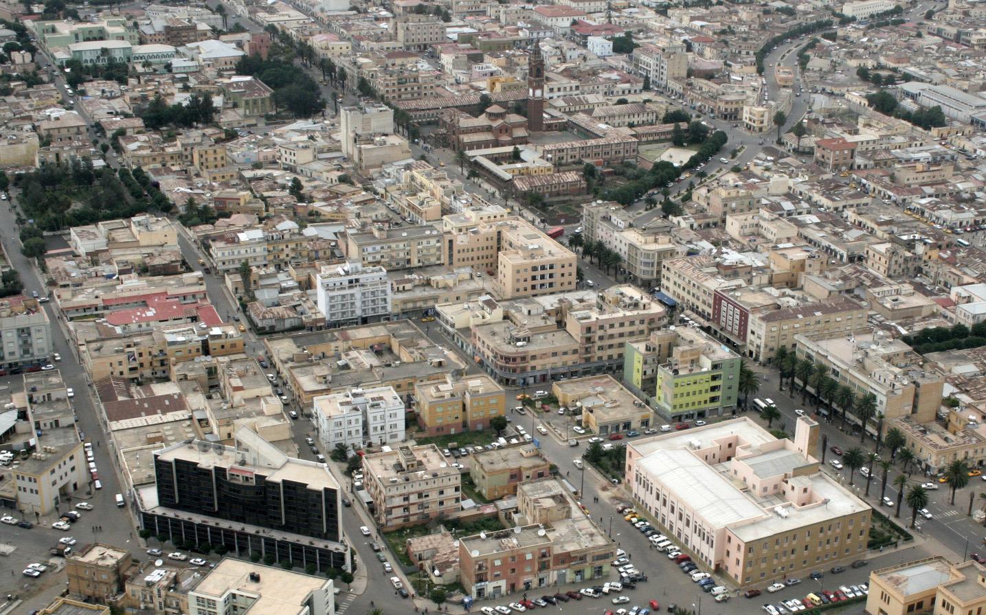 Asmara, capitale de l'Érythrée