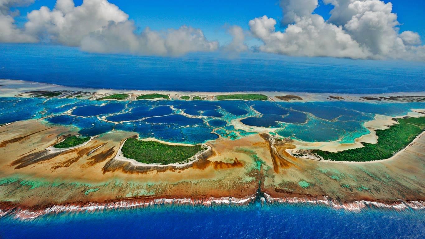 Atoll Caroline, Kiribati