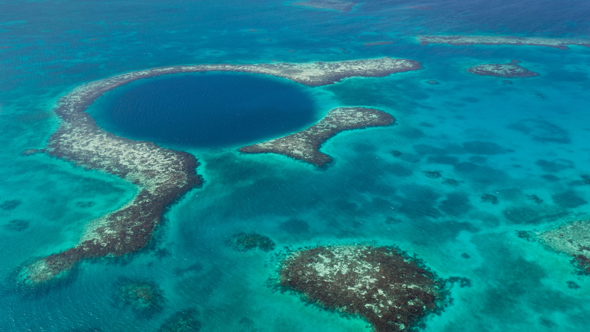 Le Grand trou bleu, Belize