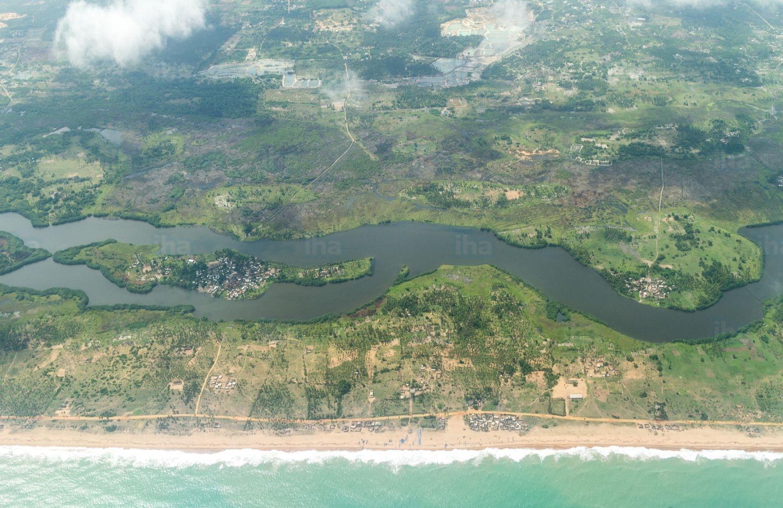 Littoral près de Cotonou, Bénin