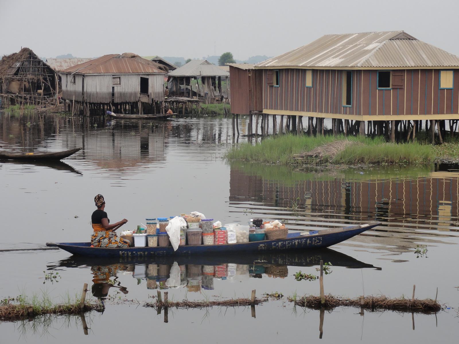 Village sur l'eau, Bénin