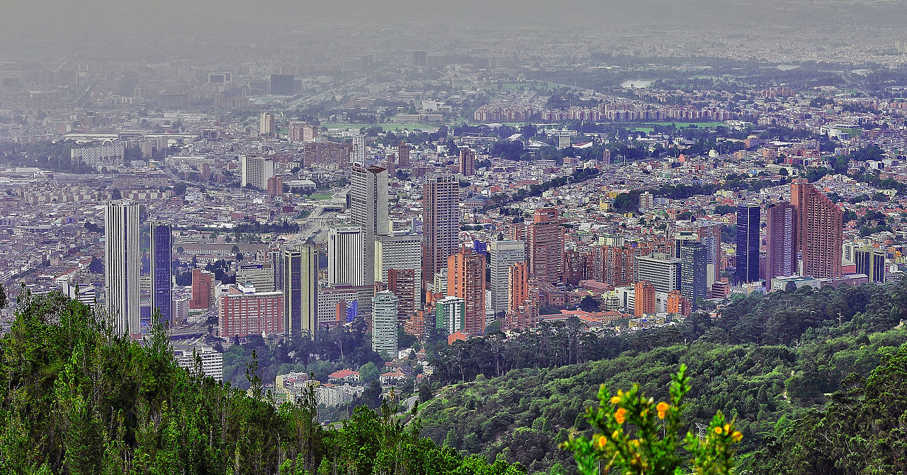 Bogota Colombia Country City Code