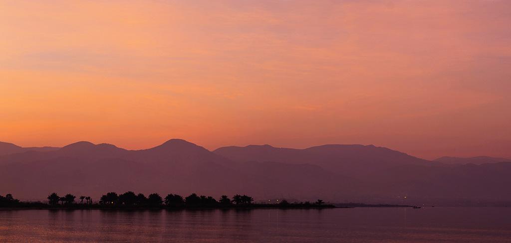Couché de soleil sur Bujumbura, Burundi