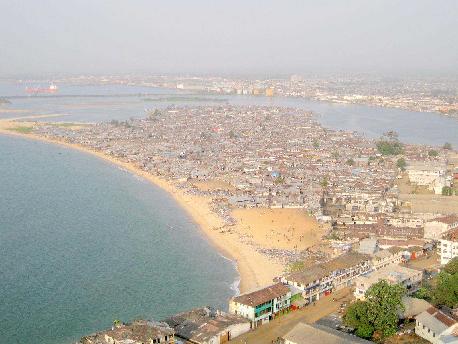 Île Bushrod, Monrovia, Libéria