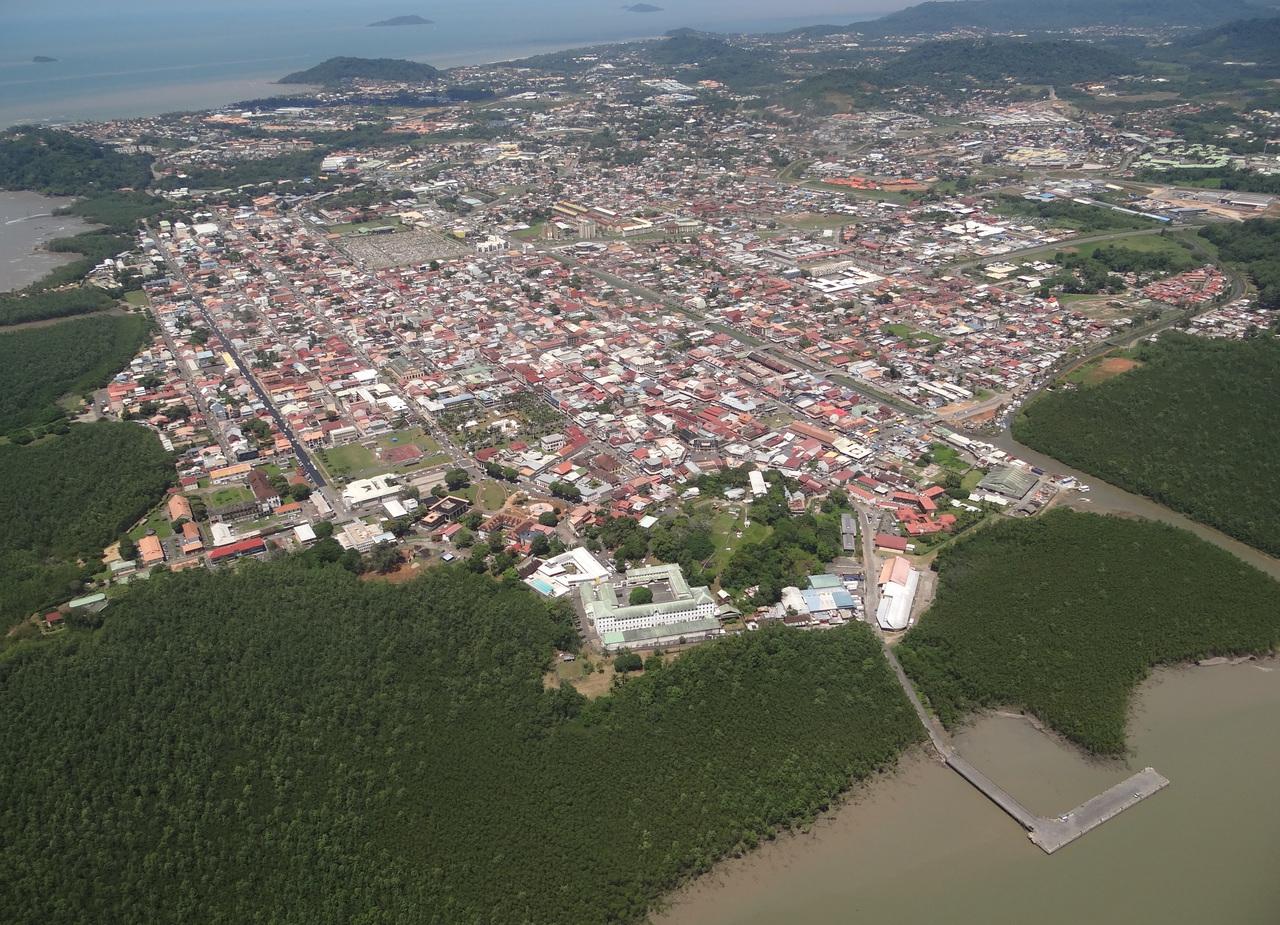 Cayenne, capitale de la Guyane