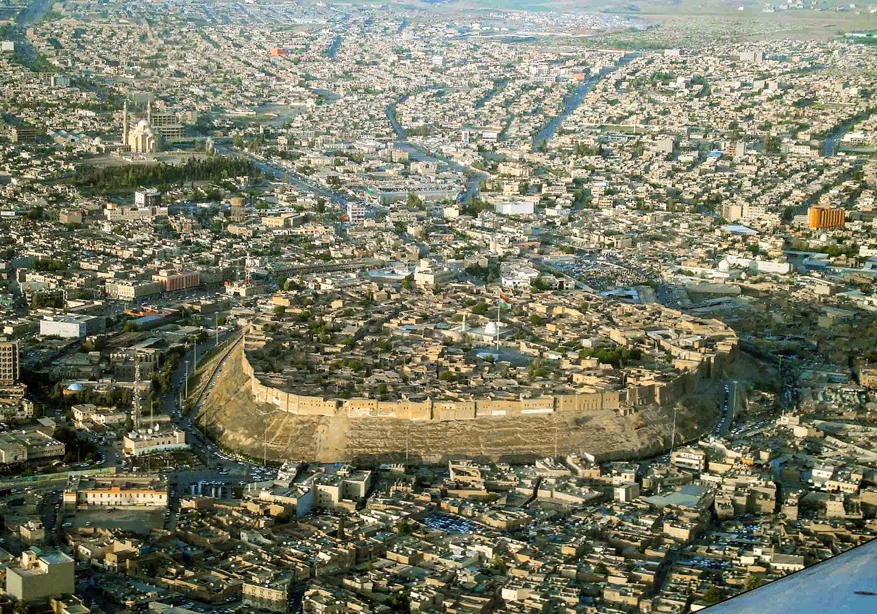 Citadelle d'Arbil, Kurdistan, Irak