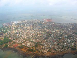 Conakry, capitale de la Guinée