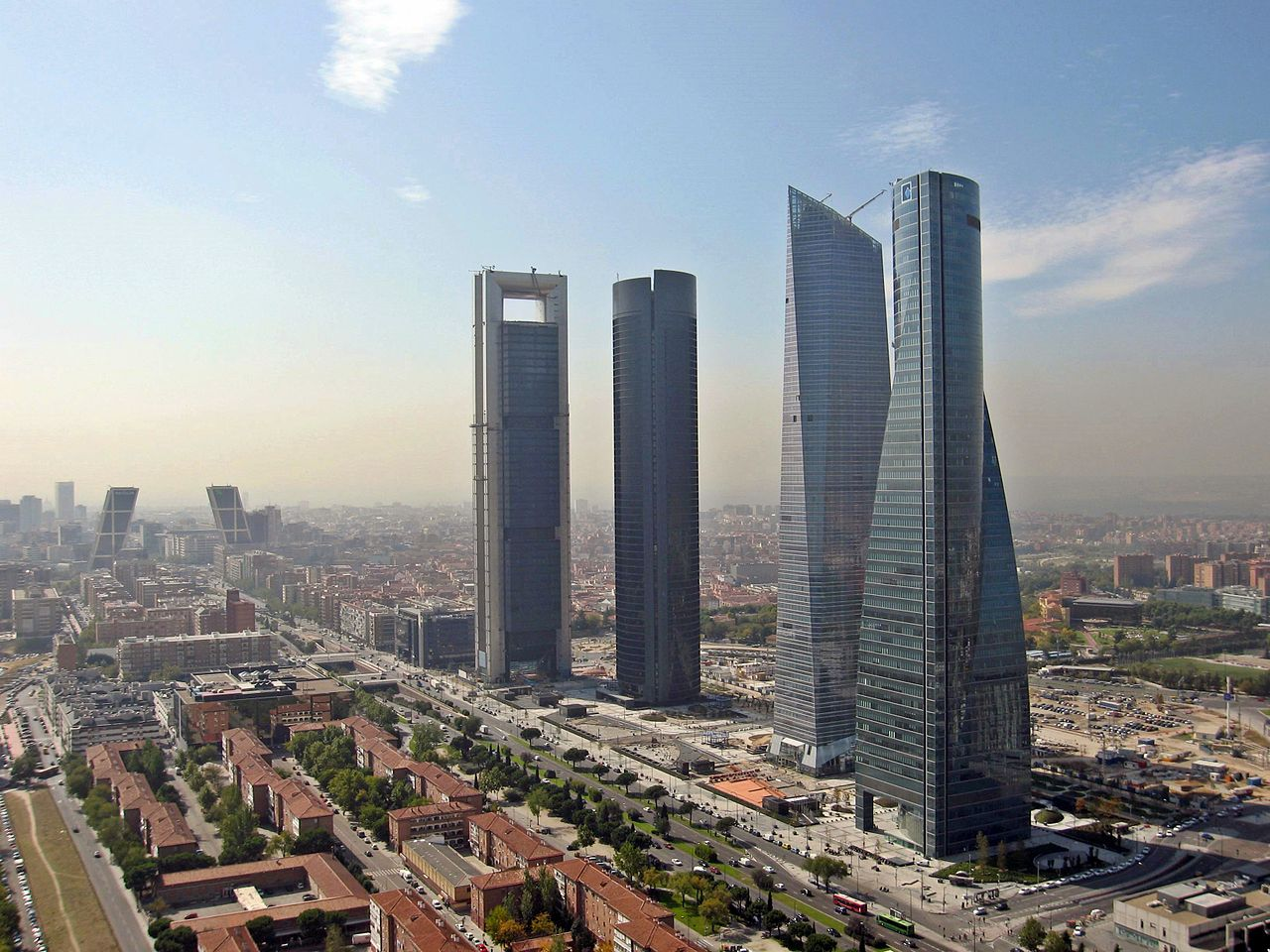 Cuatro Torres Business Area - Madrid, Espagne