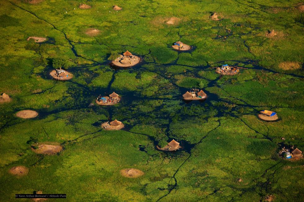 Habitations dans les marais, Congo