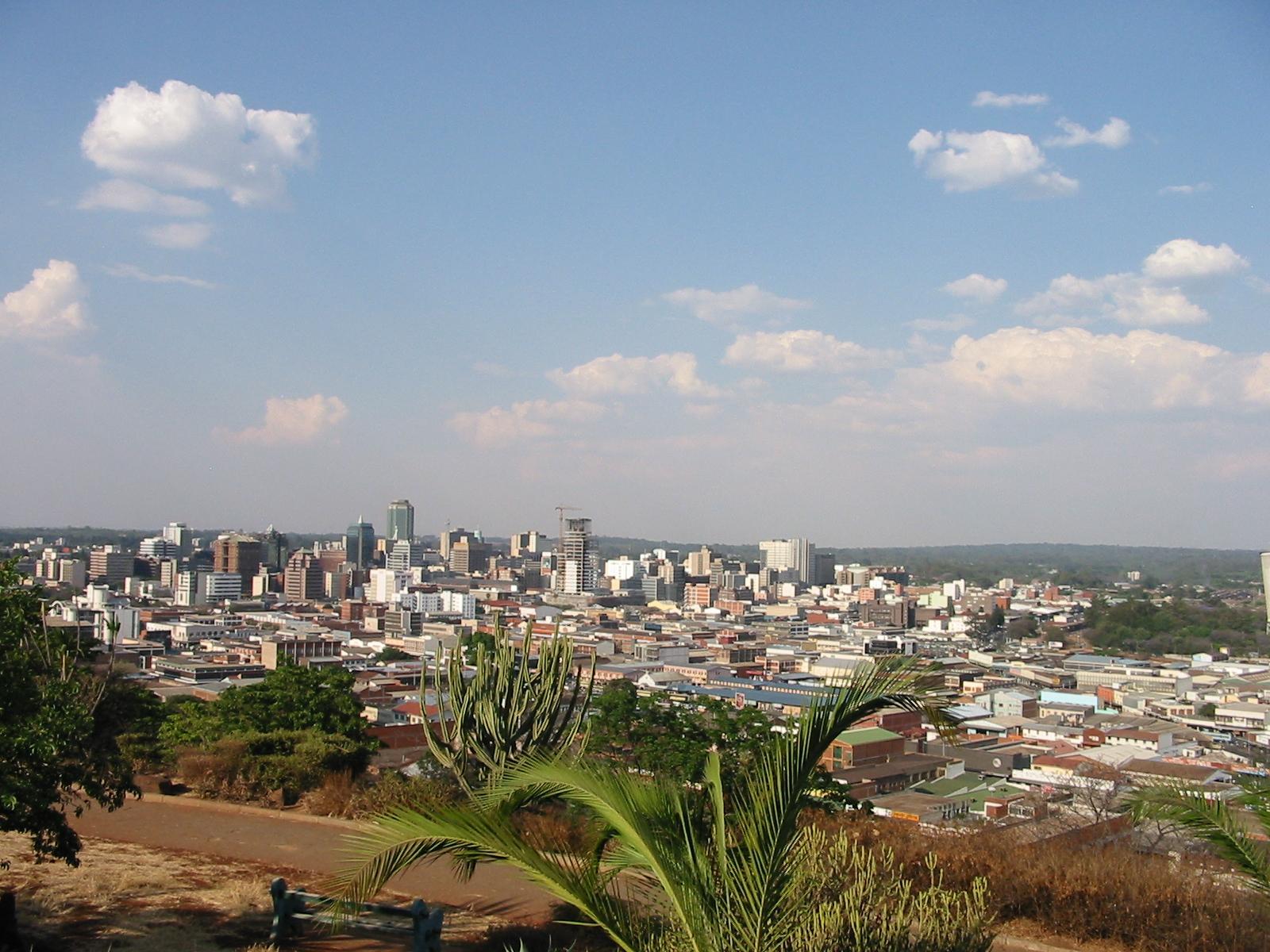 Hararé, capitale du Zimbabwé