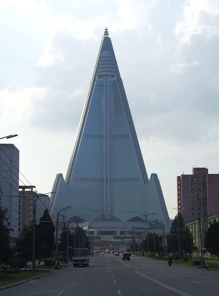 Hôtel Ryugyong, Pyongyang