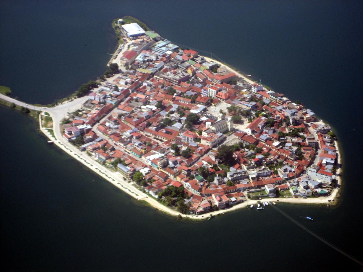Île de Flores, Guatemala