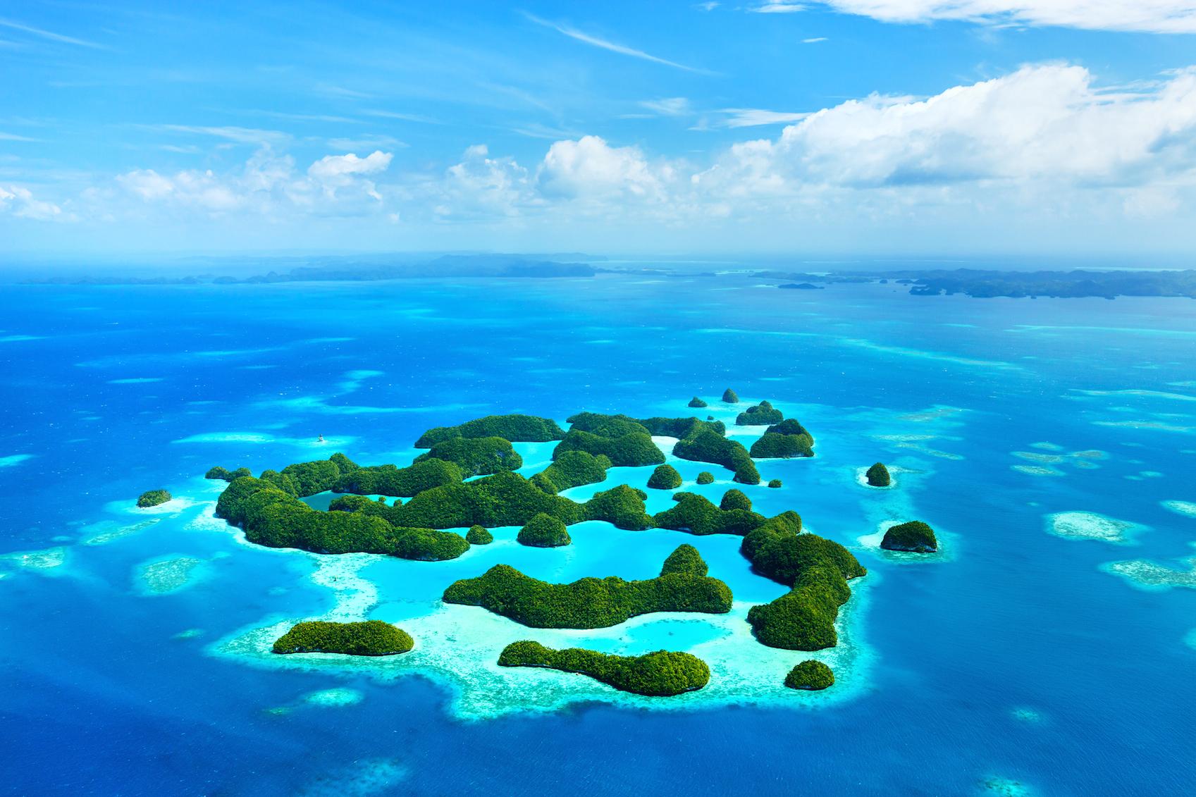 îles Chelbacheb, Palaos