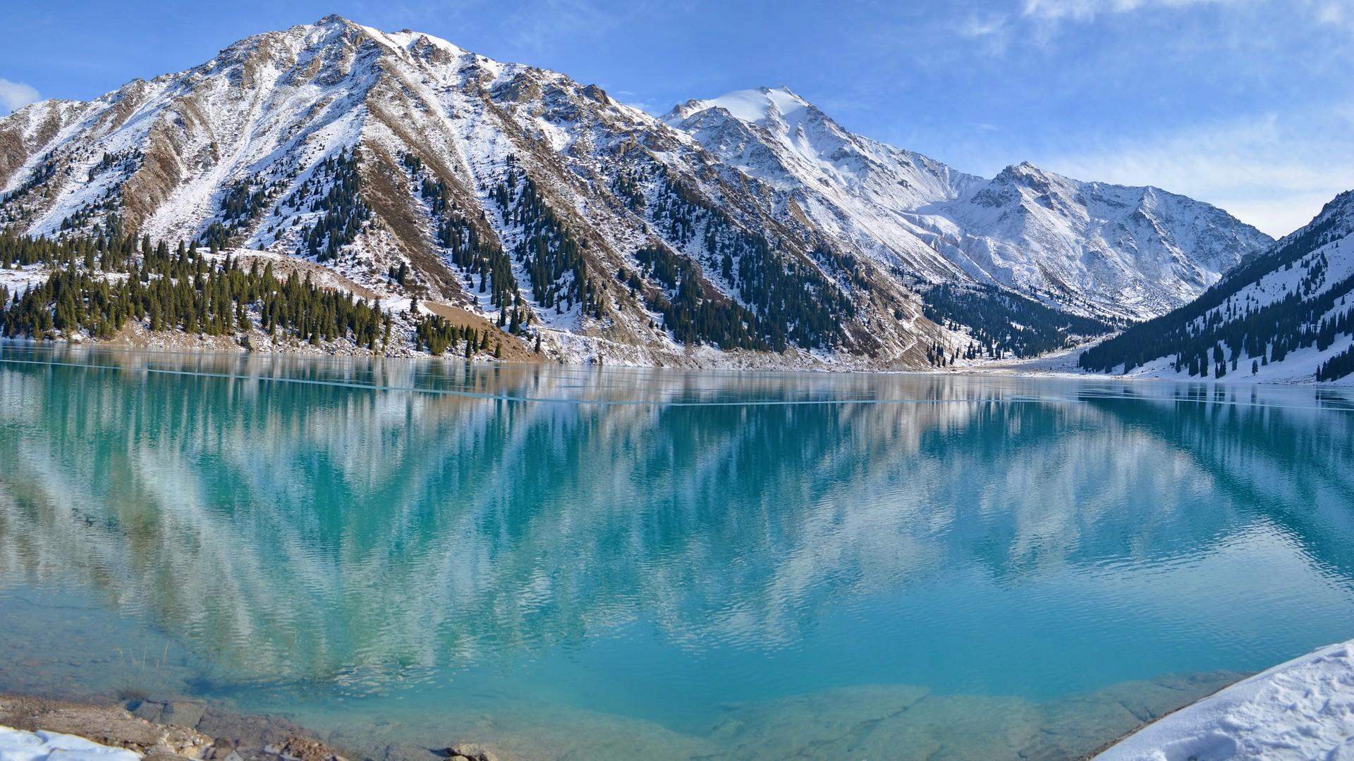 Lac Almaty, Kazakhstan