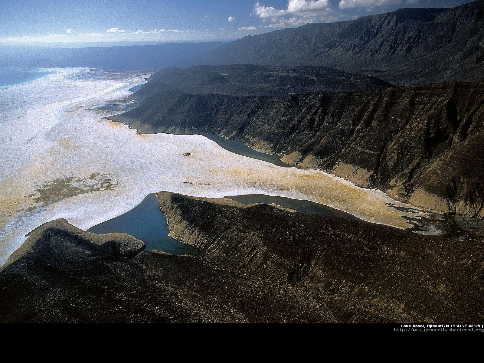 Lac Assal, Djibouti