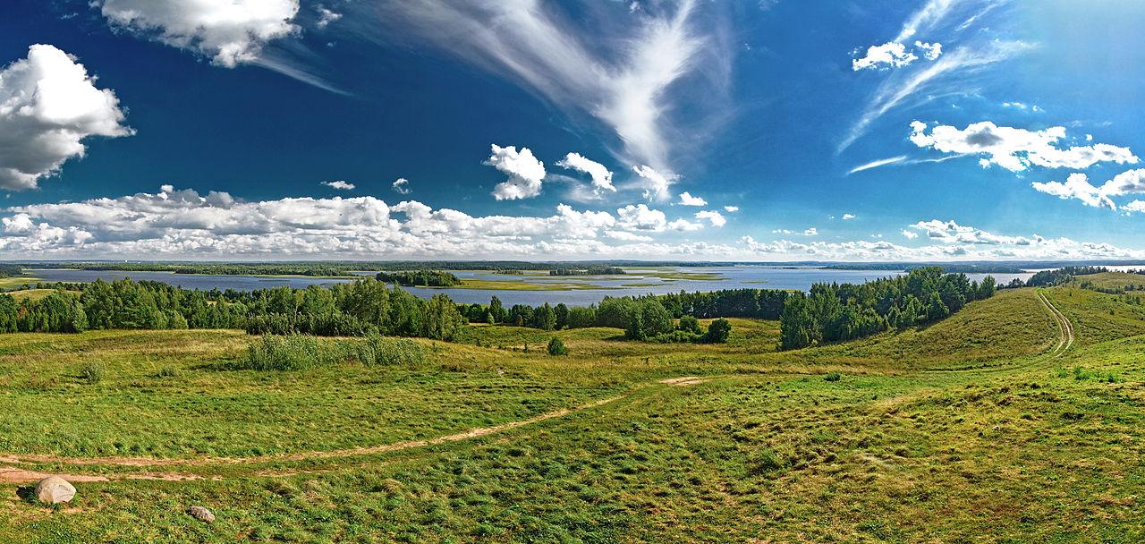 Lac Strusta, Biélorussie