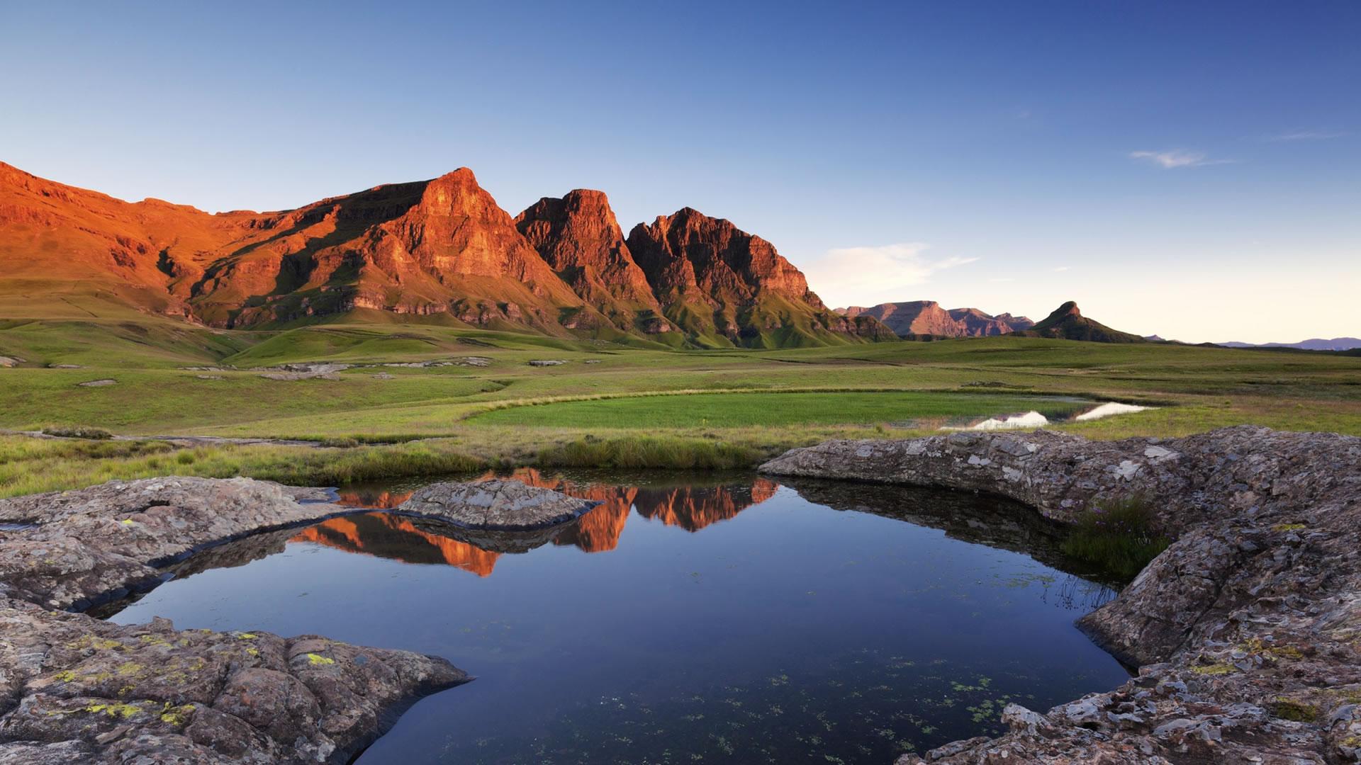Paysage du Lesotho