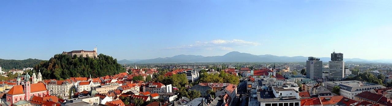 Ljubljana, capitale de la Slovénie