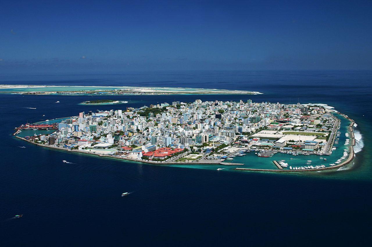 Malé, capitale des Maldives