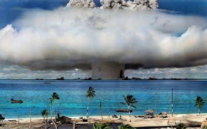 Marshall - Bikini : bombe nucléaire