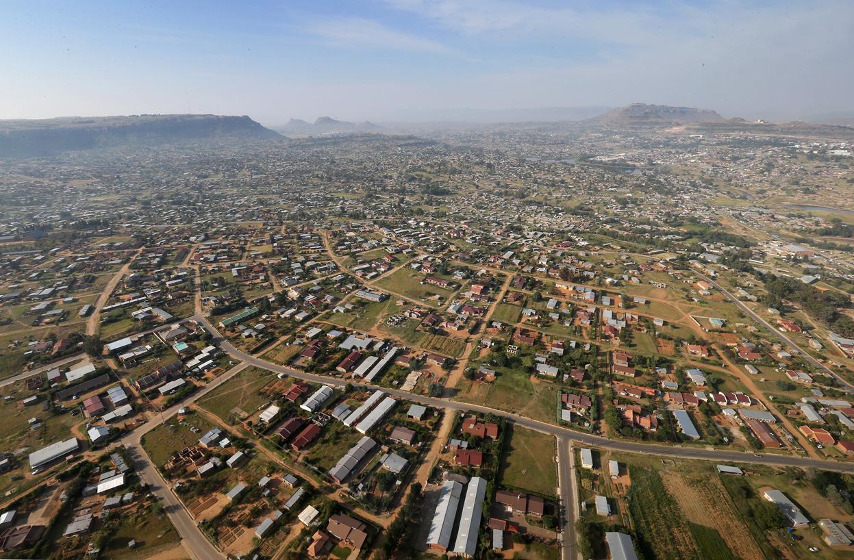 Maseru, capitale du Lesotho
