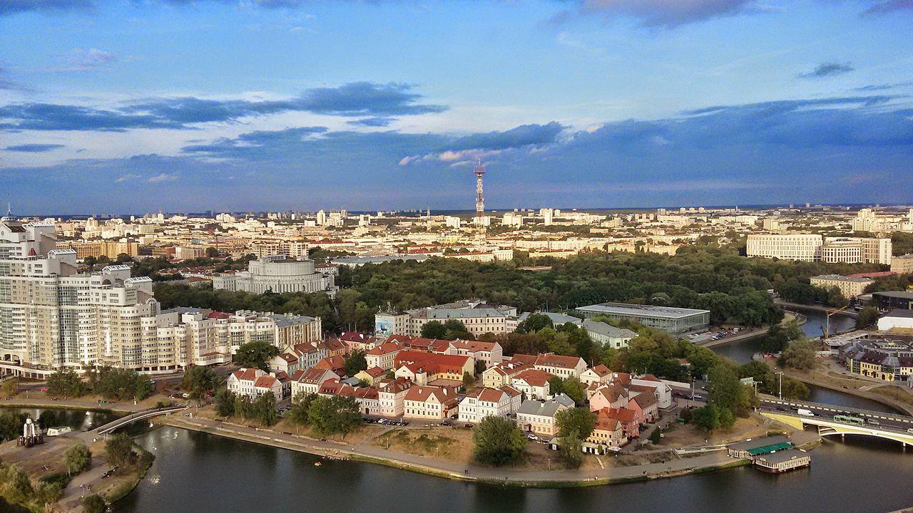 Minsk, capitale de la Biélorussie