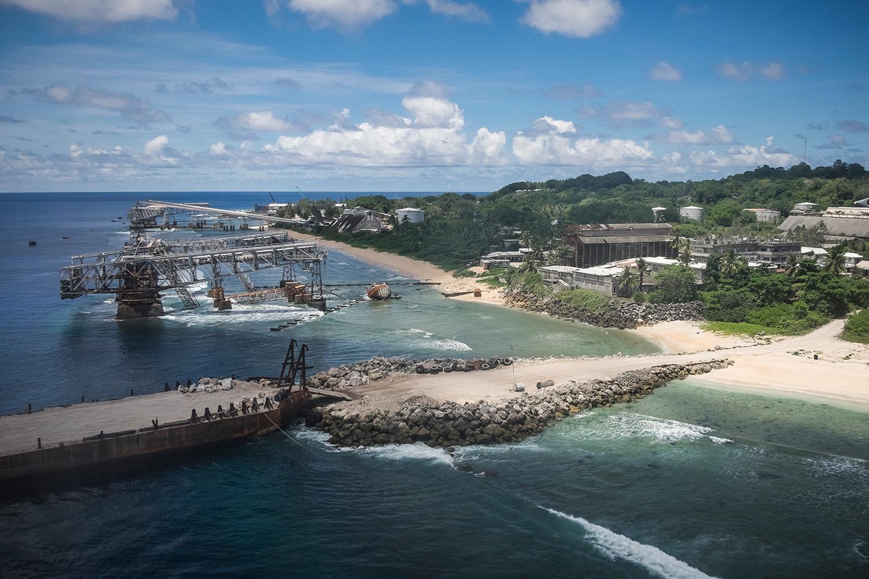 Installations industrielles à l'abandon, Nauru