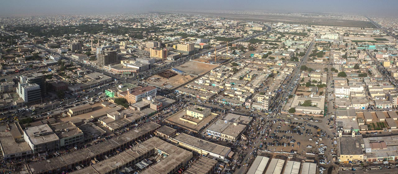 Nouakchott, capitale de la Mauritanie