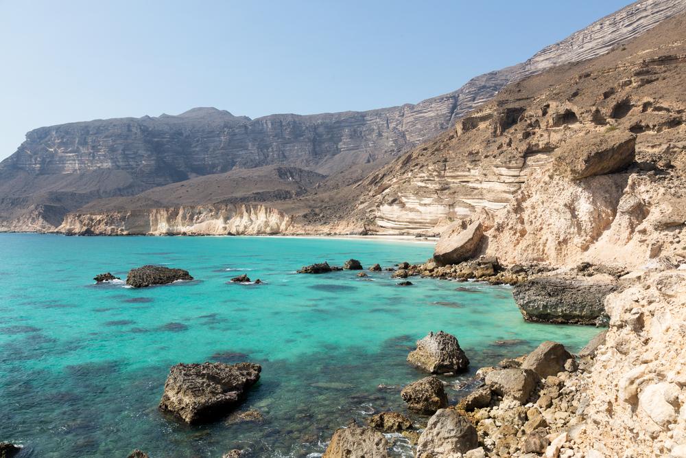 Côte désertique d'Oman