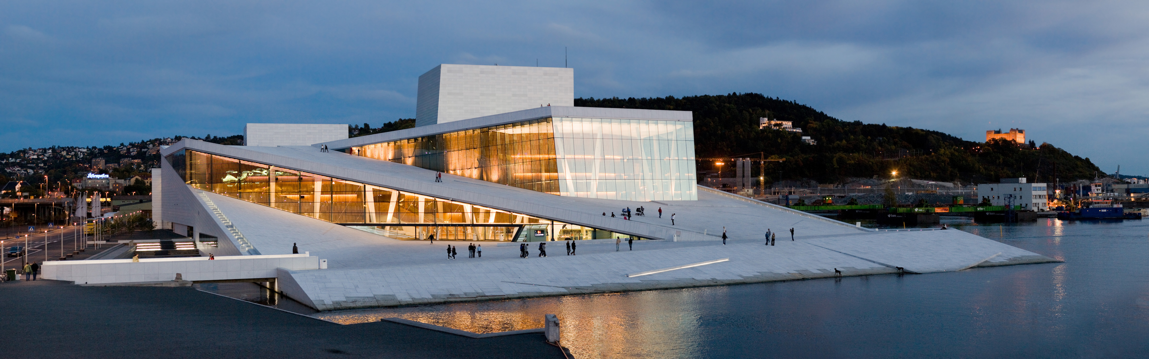 Opéra d'Oslo, Norvège. Source : Most beautiful Spots.