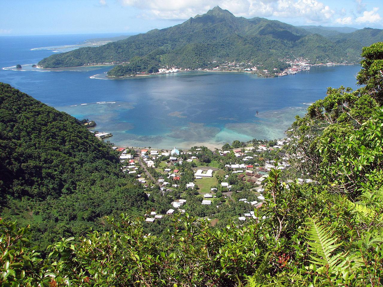 Pago Pago, capitale des Samoa américaines