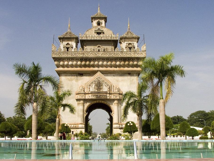 Patouxai, Vientiane, Laos