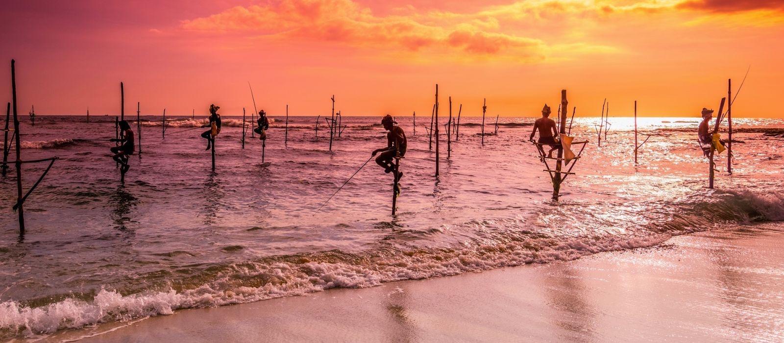 Pêcheurs, Sri Lanka