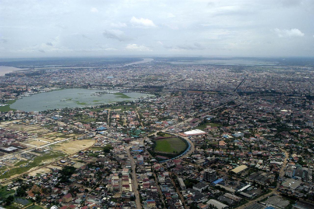 Phnom Penh, capitale du Cambodge