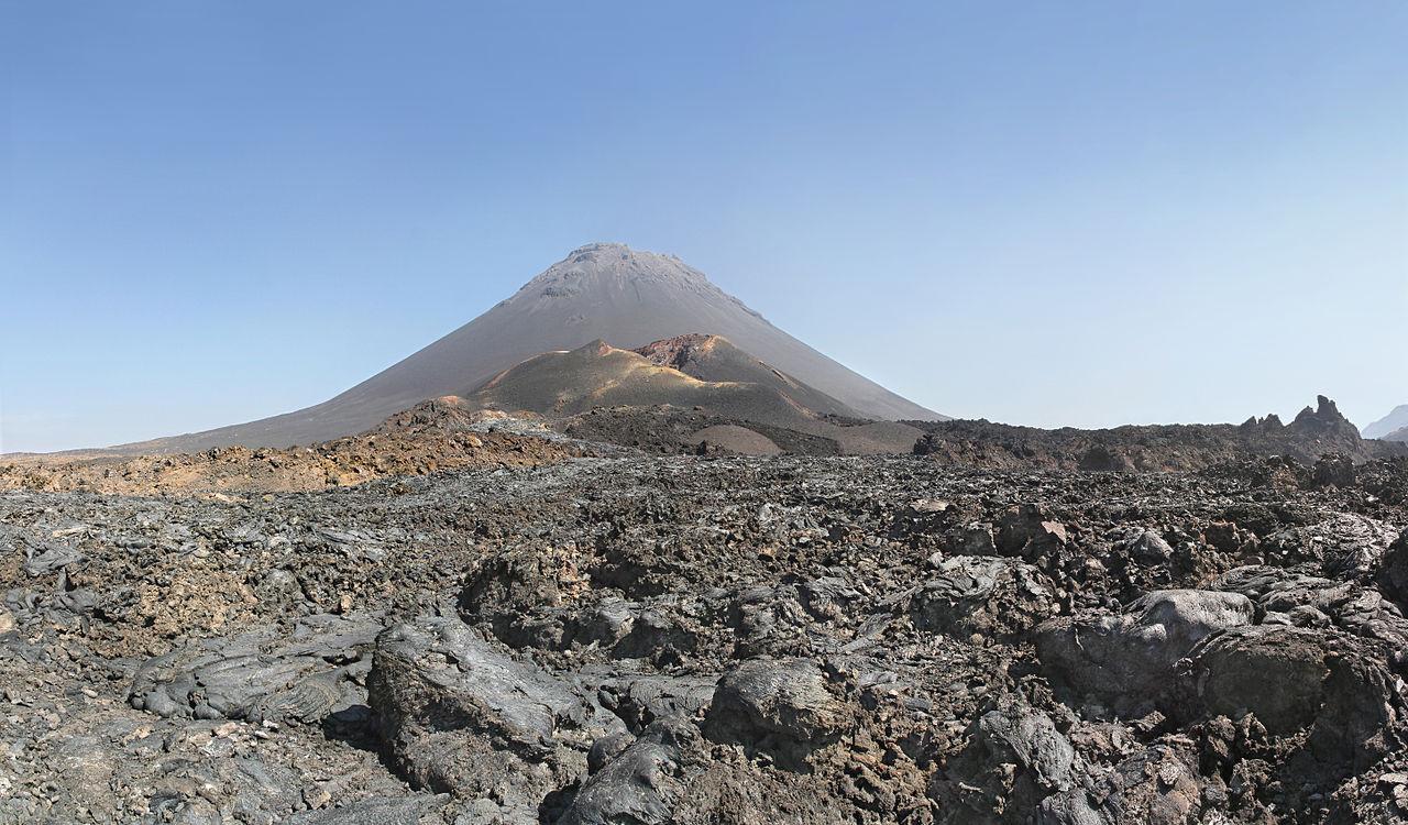 Pic de Fogo, volcan du Cap-Vert