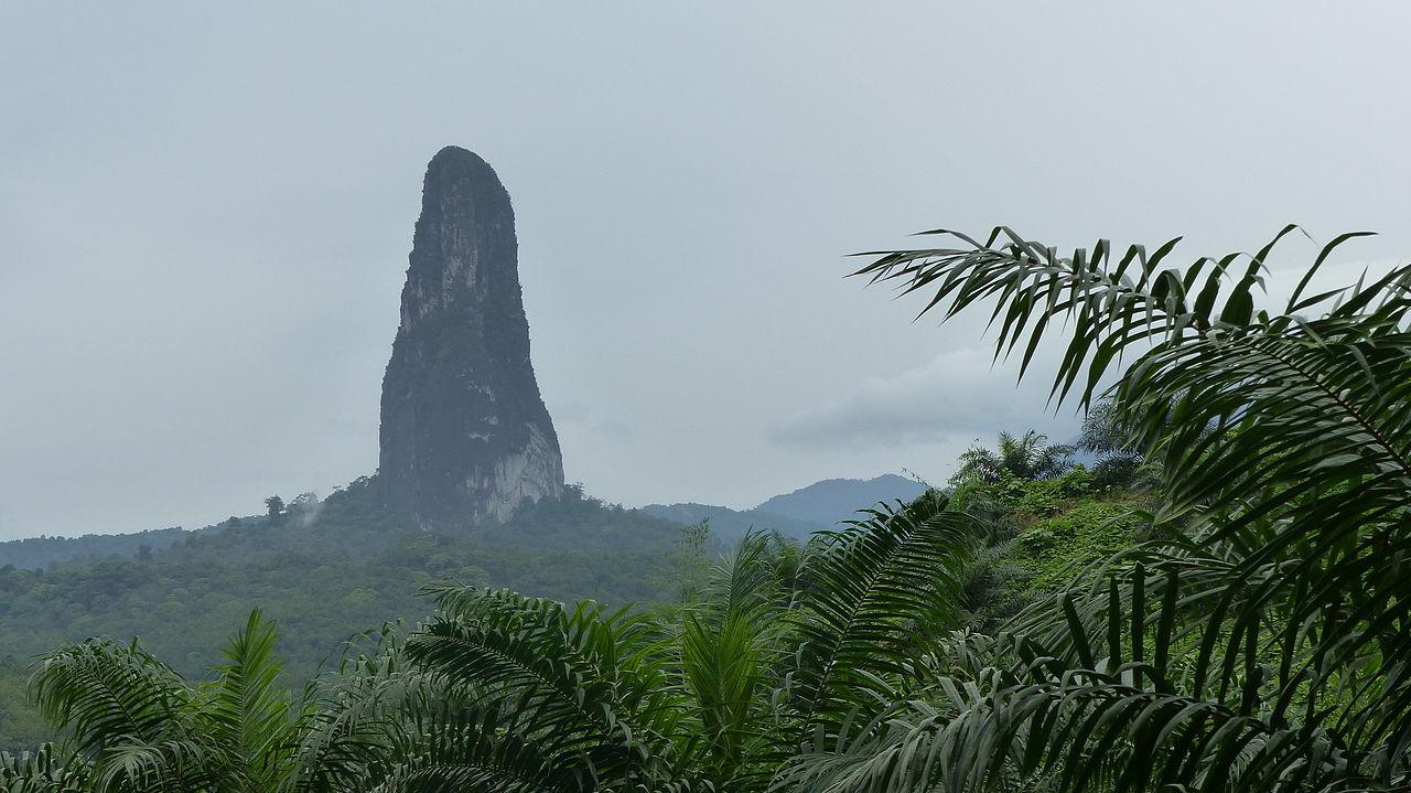 Pico Cão Grande, Sao Tomé-et-Principe
