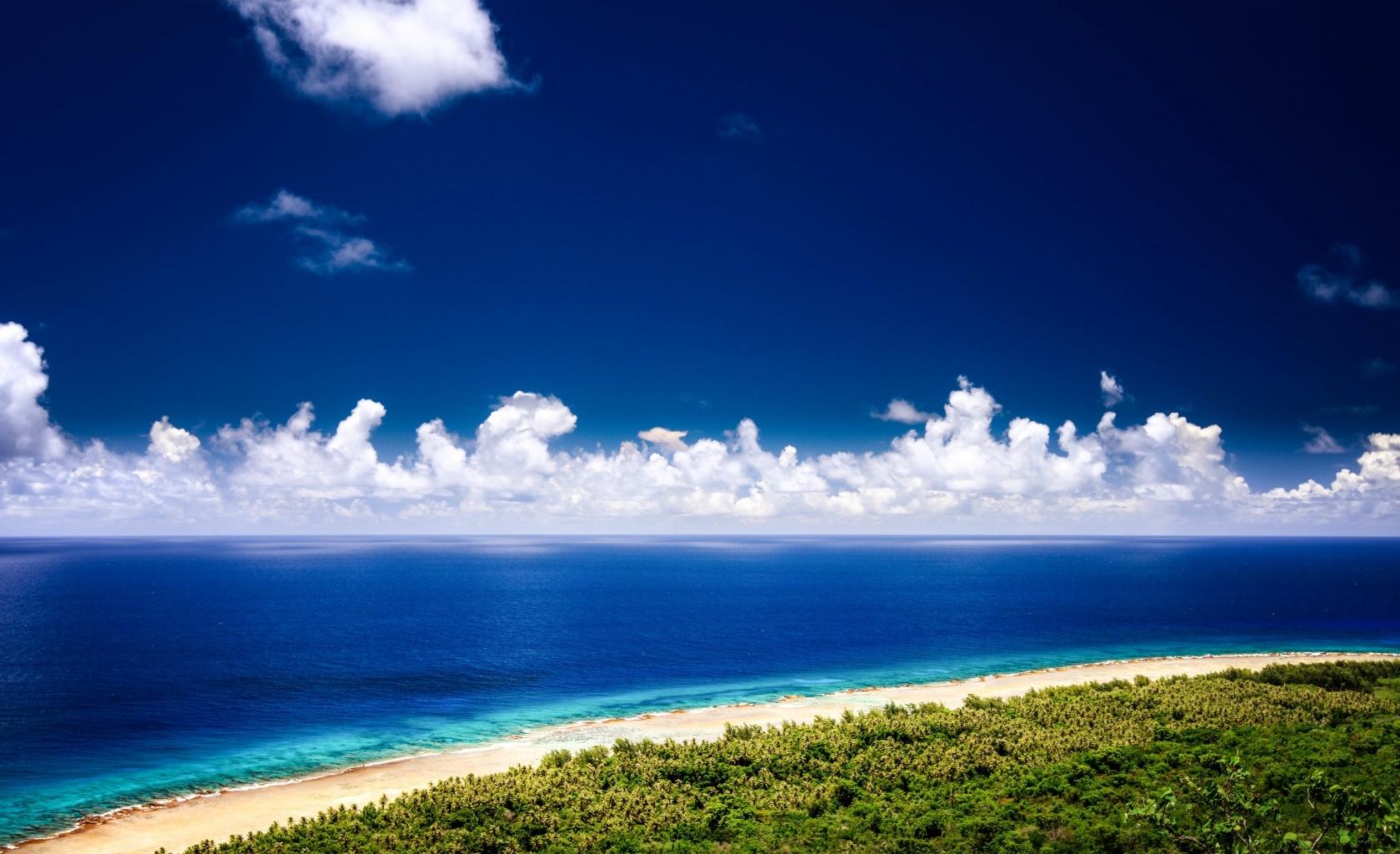 Plage à Guam