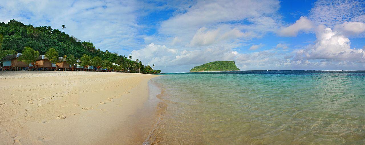 Plage Lalomanu, Samoa