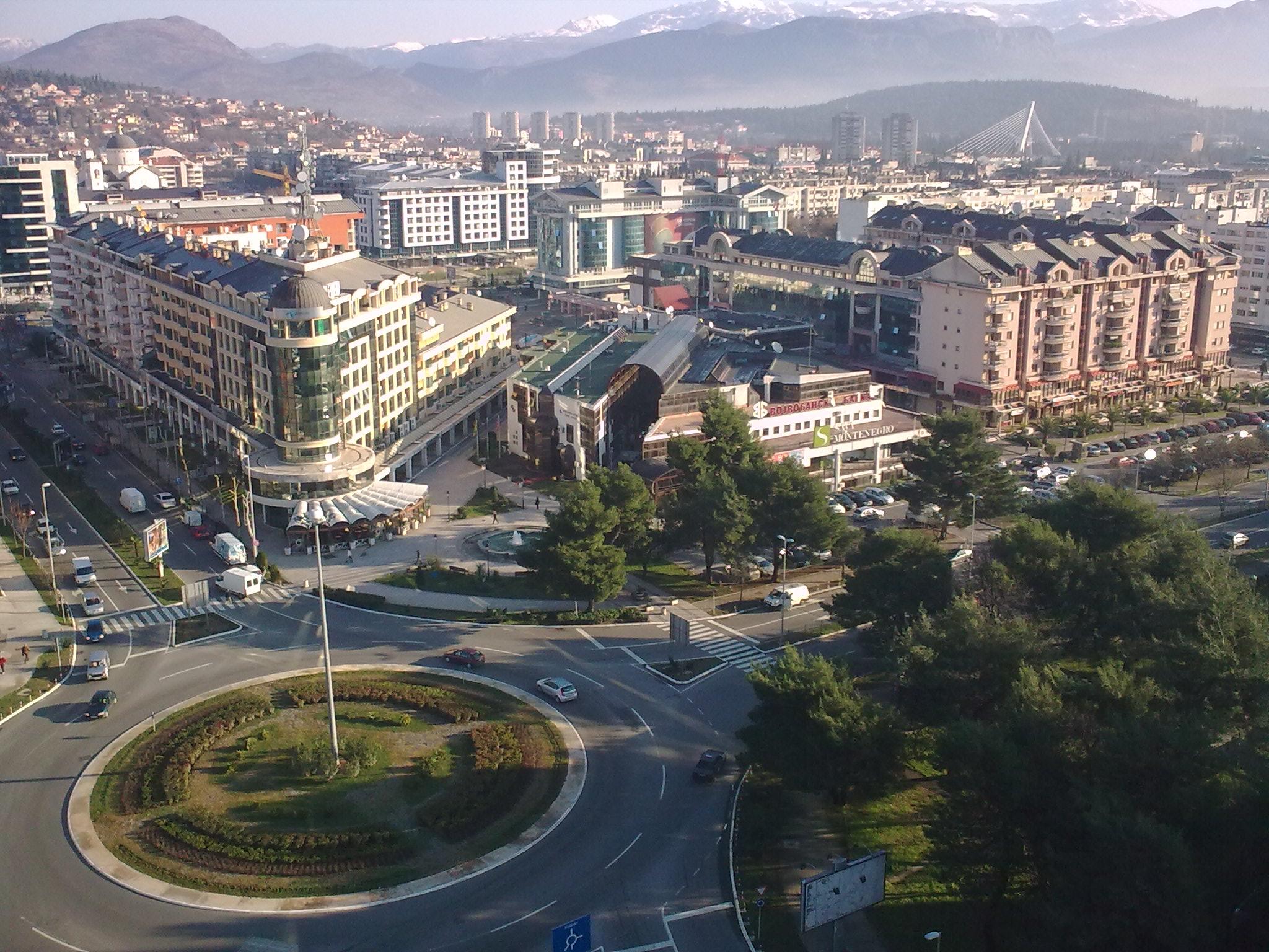 Podgorica, capitale du Monténégro