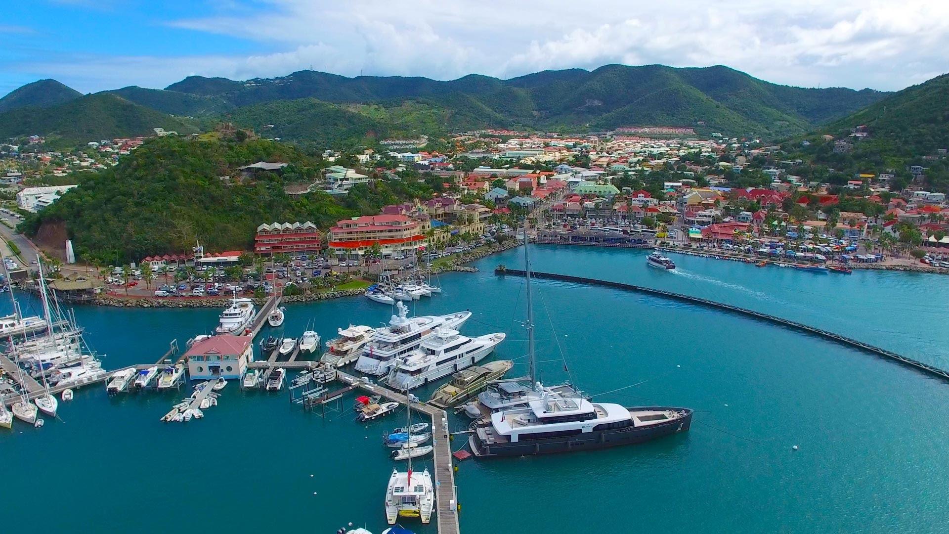 Port de Marigot, Saint-Martin