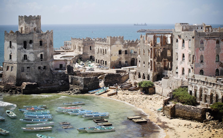 Port de Mogadiscio, Somalie