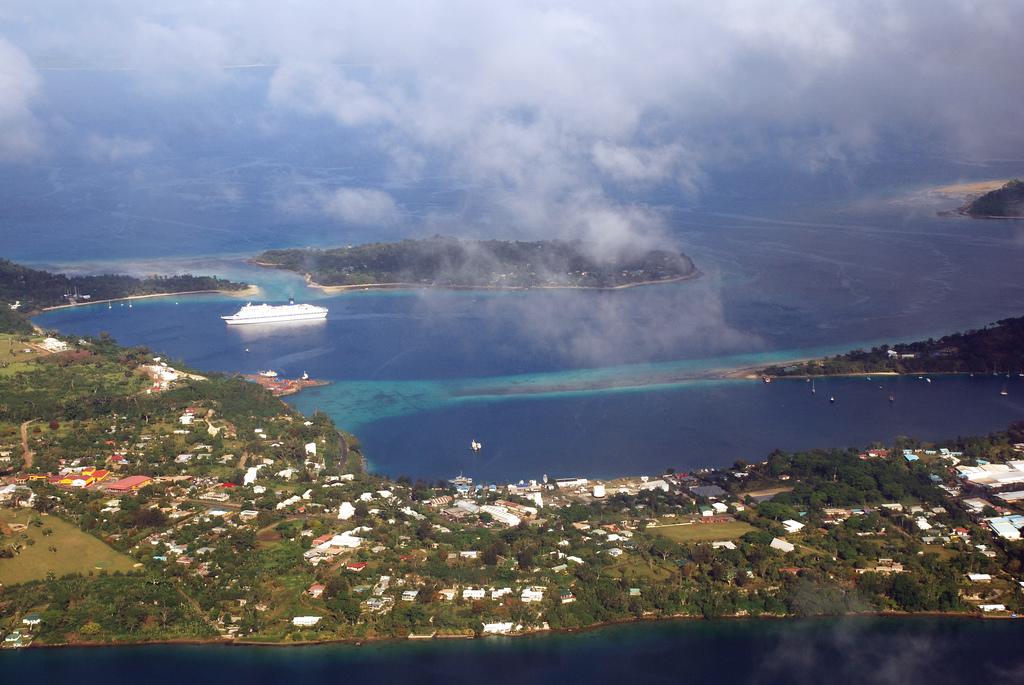 Port-Vila, capitale du Vanuatu