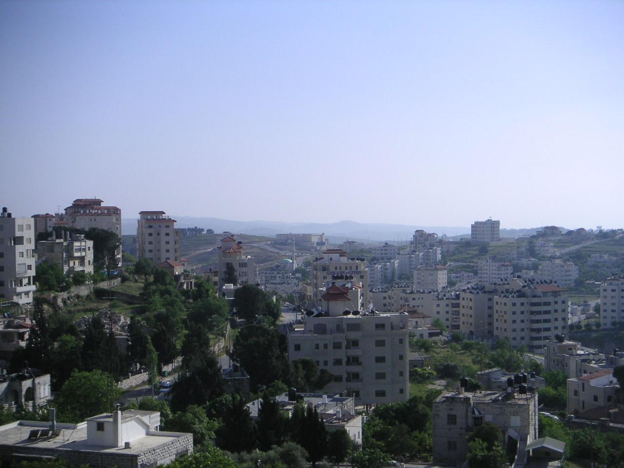 Ramallah, capitale administrative de la Palestine