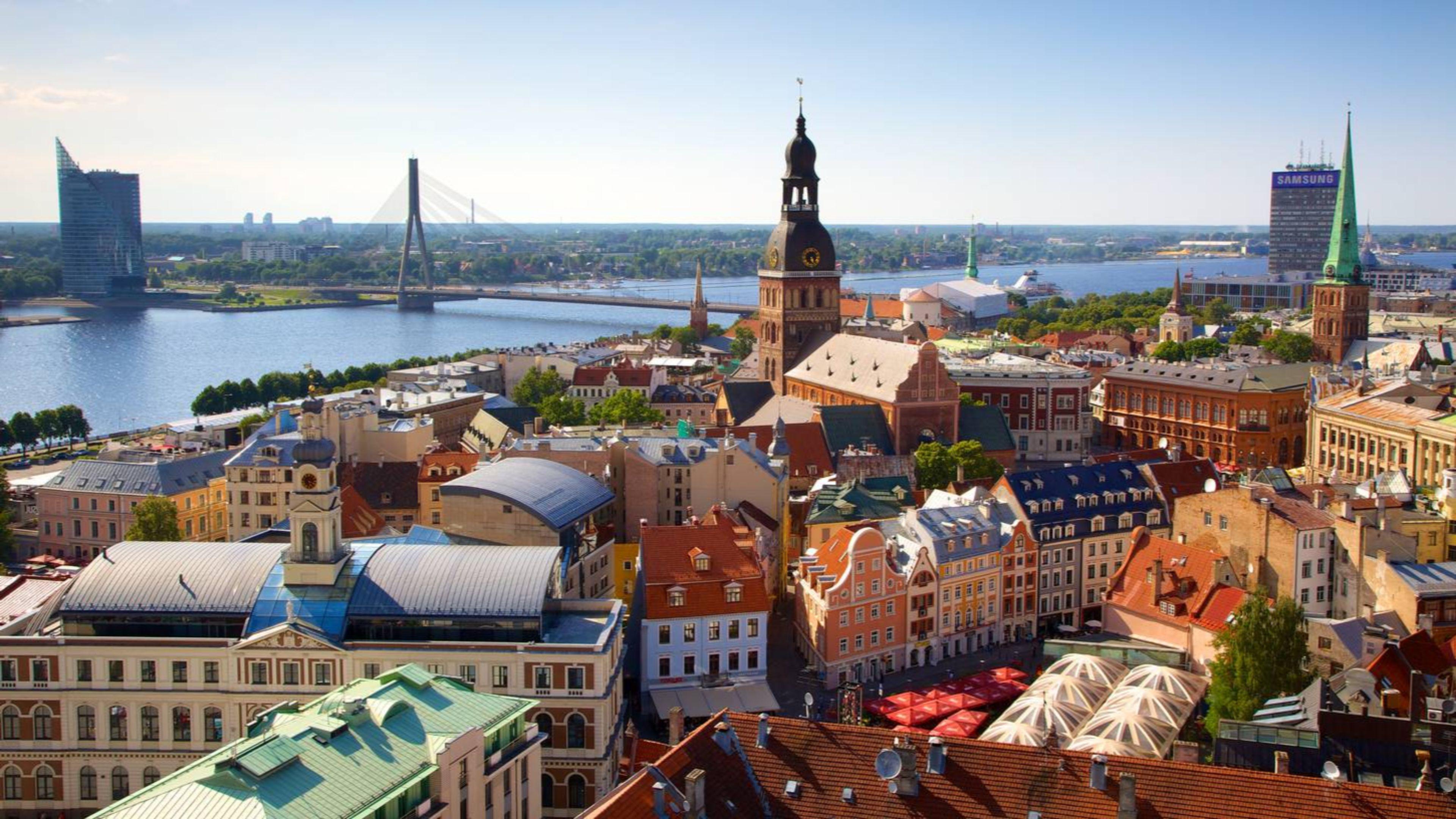 Riga, capitale de la Lettonie